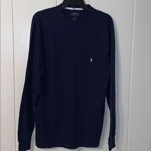 POLO Ralph Lauren dark navy long sleeved T-shirt